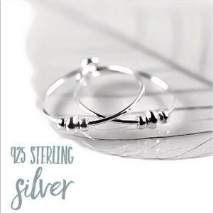 925S Small Sized Minimalist Hoop Earrings